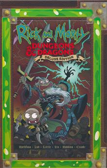 RICK AND MORTY VS DUNGEONS & DRAGONS HC (MR)