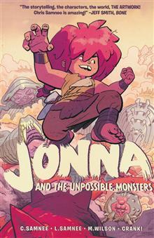 JONNA & THE UNPOSSIBLE MONSTER TP VOL 01