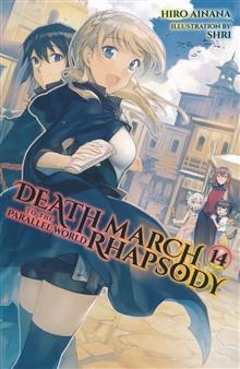 DEATH MARCH PARALLEL WORLD RHAPSODY NOVEL SC VOL 14