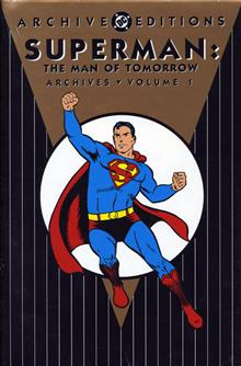 SUPERMAN MAN OF TOMORROW ARCHIVES VOL 1 HC