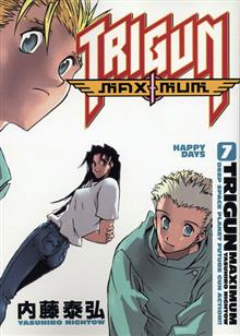 TRIGUN MAXIMUM TP VOL 07 HAPPY DAYS