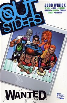 OUTSIDERS VOL 3 WANTED TP