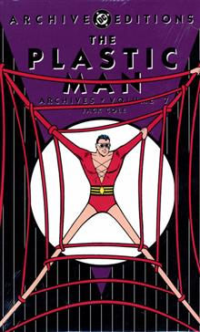 PLASTIC MAN ARCHIVES HC VOL 07