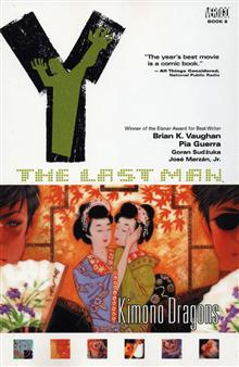 Y THE LAST MAN TP VOL 08 KIMONO DRAGONS (MR)