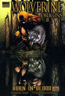 WOLVERINE ORIGINS VOL 1 BORN IN BLOOD PREMIERE HC
