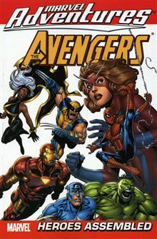 MARVEL ADVENTURES AVENGERS VOL 1 HEROES ASSEMBLED