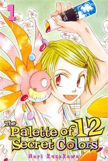 PALETTE OF 12 SECRET COLORS VOL 1