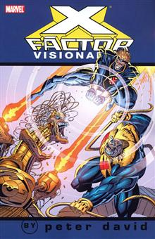 X-FACTOR VISIONARIES PETER DAVID VOL 3 TP