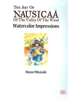NAUSICAA WATERCOLOR IMPRESSIONS HC