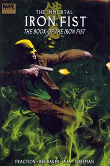 IMMORTAL IRON FIST VOL 3 BOOK OF IRON FIST PREM HC