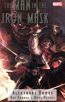 MARVEL ILLUSTRATED TP MAN IN THE IRON MASK