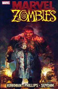 MARVEL ZOMBIES HULK COVER TP