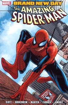SPIDER-MAN TP VOL 01 BRAND NEW DAY
