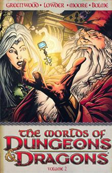 WORLDS OF DUNGEONS & DRAGONS TP VOL 02