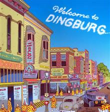 WELCOME TO DINGBURG GN VOL 01 A ZIPPY COLLECTION