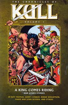 CHRONICLES OF KULL TP VOL 01 KING COMES RIDING