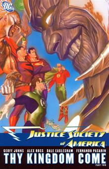 JUSTICE SOCIETY OF AMERICA VOL 3 THY KINGDOM COME PART 2 TP