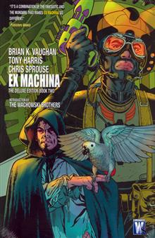 EX MACHINA DELUXE EDITION VOL 2 HC (MR)