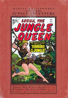 MMW ATLAS ERA JUNGLE ADVENTURE VOL 1 HC