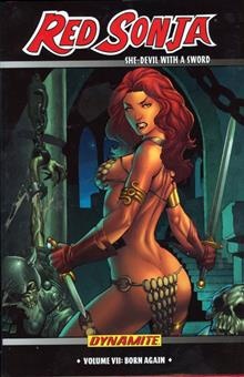 RED SONJA VOL 7 BORN AGAIN HC
