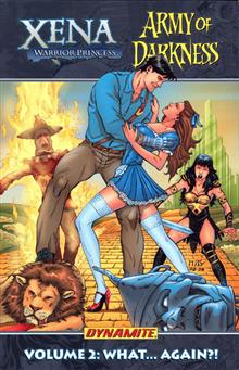 XENA ARMY OF DARKNESS VOL 2 WHAT AGAIN TP
