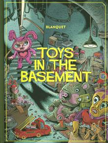 TOYS IN THE BASEMENT HC