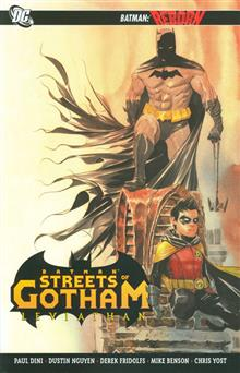 BATMAN STREETS OF GOTHAM TP VOL 02 LEVIATHAN