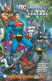 DC UNIVERSE ONLINE LEGENDS TP VOL 01