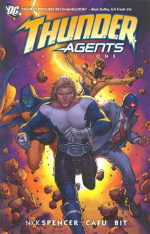 THUNDER AGENTS TP VOL 01
