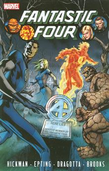 FANTASTIC FOUR BY JONATHAN HICKMAN TP VOL 04