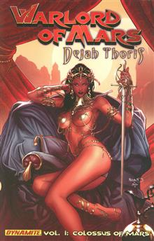 WARLORD OF MARS DEJAH THORIS TP VOL 01 COLOSSUS OF MARS