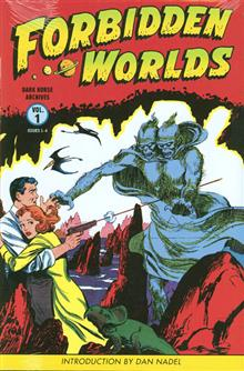 FORBIDDEN WORLDS ARCHIVES HC VOL 01