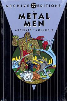 METAL MEN ARCHIVES HC VOL 02
