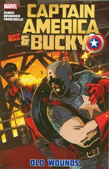 CAPTAIN AMERICA AND BUCKY TP OLD WOUNDS