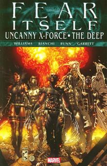 FEAR ITSELF TP UNCANNY X-FORCE DEEP