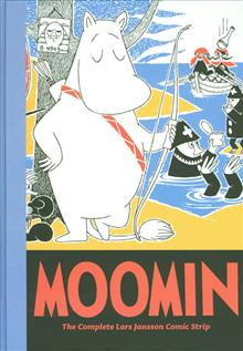 MOOMIN COMPLETE LARS JANSSON COMIC STRIP HC VOL 07