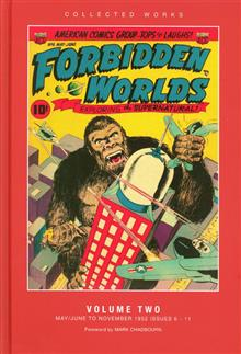 ACG COLL WORKS FORBIDDEN WORLDS HC VOL 02