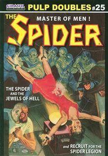 GIRASOL PULP DOUBLES THE SPIDER VOL 25