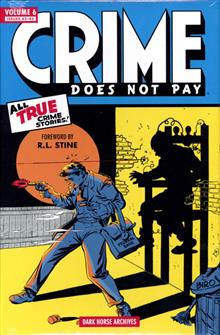 CRIME DOES NOT PAY ARCHIVES HC VOL 06