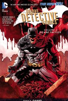 BATMAN DETECTIVE COMICS TP VOL 02 SCARE TACTICS
