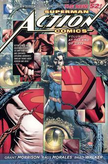 SUPERMAN ACTION COMICS HC VOL 03 END OF DAYS (N52)
