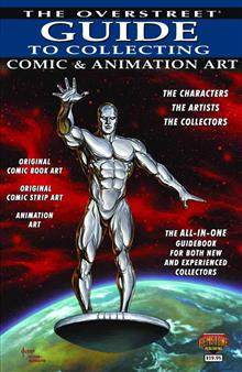 OVERSTREET GUIDE TO COLLECTING VOL 02 COMIC & ANIMATION ART