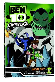 BEN 10 OMNIVERSE GN VOL 01 GHOST SHIP (C: 1-0-1)