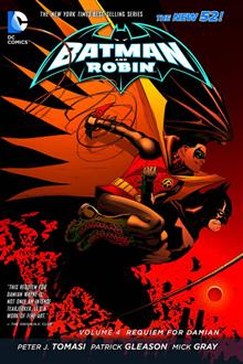 BATMAN & ROBIN TP VOL 04 REQUIEM FOR DAMIAN (N52)