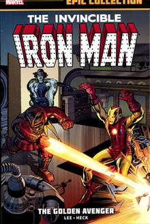 IRON MAN EPIC COLLECTION TP GOLDEN AVENGER