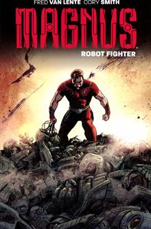 MAGNUS ROBOT FIGHTER TP VOL 01 FLESH & STEEL