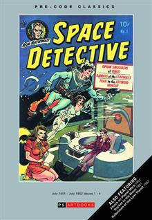 PRE CODE CLASSIC SPACE DETECTIVE BOOKSHOP ED VOL 01