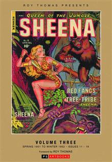 ROY THOMAS PRESENTS SHEENA QUEEN JUNGLE BOOKSHOP ED VOL 03 (