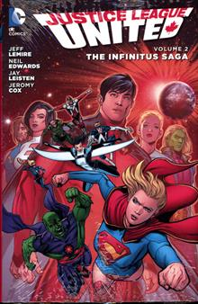 JUSTICE LEAGUE UNITED HC VOL 02 THE INFINITUS SAGA
