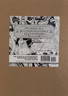 LEAGUE OF EXTRAORDINARY GENTLEMEN GALLERY ED HC (MR)